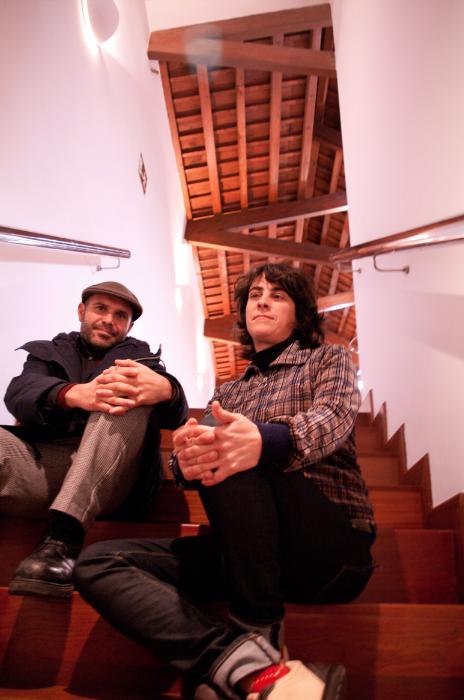 Míriam Blanch y José María Pérez