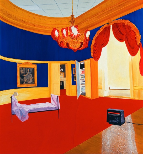 Dexter Dalwood The Queen´s Bedroom, 1998