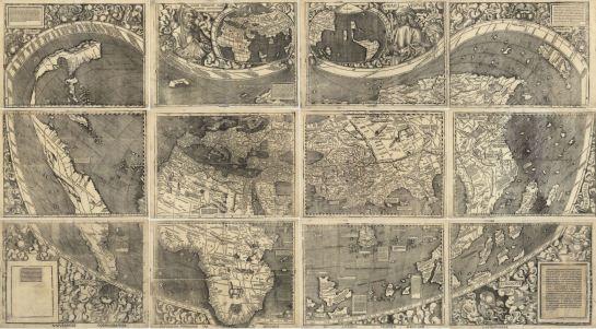 Planisferio de Waldseemüller de 1507